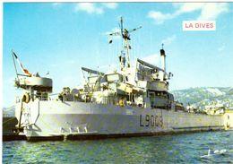 La Dives Bâtiment De Débarquement De Chars - Guerra