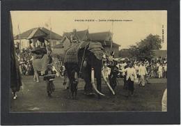 CPA Cambodge éléphant Non Circulé Roi King - Cambodge