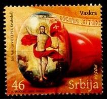 Serbie - Serbia - Serbien 2010 Y&T N°340 - Michel N°344 (o) - 46d Pâques - Serbie