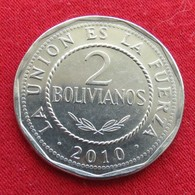 Bolivia 2 Bolivianos 2010  Bolivie - Bolivie