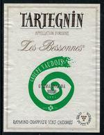 Rare // Etiquette De Vin // Gymnastique // Tartegnin, Gymnaestrada Berlin, Groupe Vaudois - Etiquettes