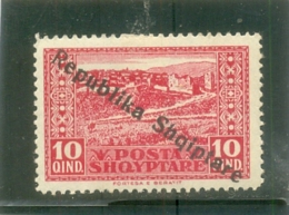 1925 ALBANIE Y & T N° 154 ( * ) Surchargé - Albania