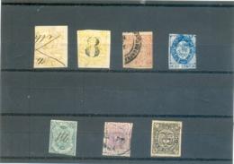 """Petit Lot """" Etats U. De Colombia """" 7 Timbres - Stamps"""