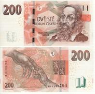 Czech. Republic   Newly Issued 200 Kroner. 2018.  UNC - Tchéquie