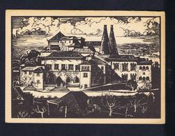 CINTRA Castles Chateaux  Sintra Peinteur MARTINS BARATA Postal Stationery Portugal #9854 - Châteaux
