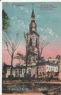 CAMBRAI  Eglise St Gery Vue Du Square Fénelon - Cambrai