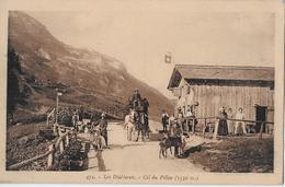 COL DU PILLON  → Diligence Avec Beaucoup De Passants Ca.1910    ►RRR◄ - VD Vaud