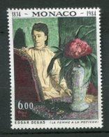 10069  MONACO  N° 1455** Les Arts : 150ème Anniversaire De La Naissance D'Albert Degas   1984  TB/TTB - Neufs