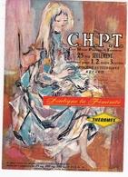 BUVARD - C.H.P.T. - Laboratoire THERAMEX  / BEAUTE FEMININE / RARE ET TRES BEAU BUVARD - Chemist's