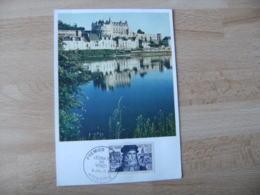 Leonard De Vinci 30 F Cm Carte Maximum 1952 - Maximum Cards