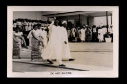B9463 POLITICS NIGERIA - ZIK AND BALEWA - Nigeria