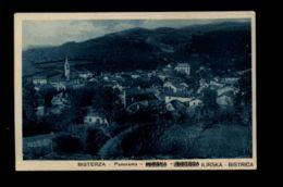B9485 SLOVENIA ITALIANA - BISTERZA ILIRSKA BISTRICA - PANORAMA PERFETTA VIAGGIATA CON FRANCOBOLLO 1926 VILLA DEL NEVOSO - Slovenia