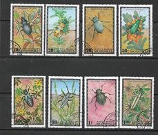 Mongolia 1972 Beetles  Used - Mongolie