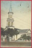 Church Of Good Shepherd, Singapore Victoria Street (verso) N° 75 OTKPbITOE IINCbMO - S'pore-CPA Old Collection - Singapore