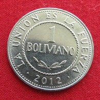 Bolivia 1 Boliviano 2012  Bolivie - Bolivie