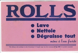 ROLLS / LAVE / NETTOIE / DEGRAISSE - Wash & Clean