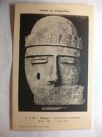 Carte Postale Paris (75) Musée Du Trocadéro - Masque Guatavita -Colombie (Petit Format Noir Et Blanc Non Circulée ) - Musées