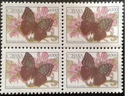 Ghana 2003-07  Definitive Block Of Four - Ghana (1957-...)