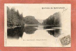 CPA - SAINT-NABORD (88) - Aspect De L'Etang De Huchère En 1902 - Saint Nabord