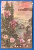 Blumen; Fleurs; Bonne Fete 1919 - Blumen