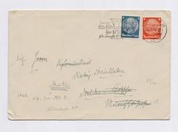 DR MWST - DRESDEN, ... Büchersammlung Der NSDAP 1941 Auf Brief - Machine Stamps (ATM)