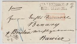 (ca. 1860) Scarce Postmark To Breslau    , #a1544 - Polen