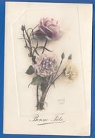 Blumen; Fleurs; Bonne Fete; Verlag AHK 292; 1912 - Blumen