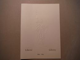 Maxi FDC (17/24 Cm) Centenaire Statue De La Liberté - 4 Juillet 1986 Paris Et Liberty Island N°11368 - FDC