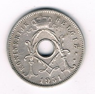 5 CENTIMES  1931 VL   BELGIE /8450/ - 1909-1934: Albert I