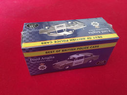 Ford Anglia  1/43  Police  Éditions Atlas - Voitures, Camions, Bus