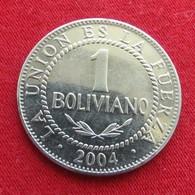 Bolivia 1 Boliviano 2004 KM# 205 Bolivie - Bolivie
