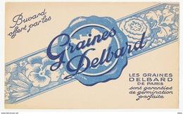 BUVARD GRAINES DELBARD PARIS - GERMINATION PARFAITE - Agriculture