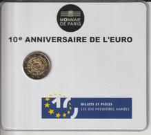 FRANCE - 2012 - Pièce De 2.€ - BU - LES 10 ANS DE L'EURO - Sous Blister Scellé - 2 Scannes - France