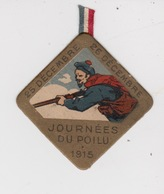 JOURNÉE DU POILU   1915  25 DEC  26 DEC - Militaria