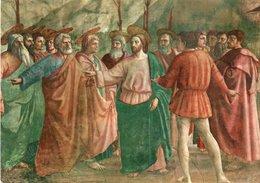 FIRENZE-GESU CRISTO CON APOSTOLI-MASACCIO - Pittura & Quadri