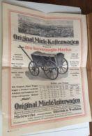 Flyer A4 Miele Werbung - Documents Historiques