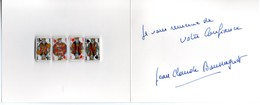 Série Complète De 4 Fèves Carte à Jouer Roi Rois (coeur, Treifle, Pique, Carreau) - Fèves