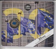 FRANCE - 2015 - Pièce De 2.€ Couleur - BU - LES 30 ANS DU DRAPEAU EUROPEEN - Sous Blister Scellé - 2 Scannes - France
