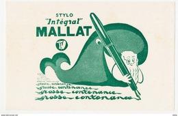 "Buvard 20.8 X 13.3 Le Stylo ""Intégral"" MALLAT Baleine - Papeterie"
