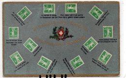 POSTE 5 : Le Langage Des Timbres Suisse ; édit. Guggenheim Zurich N° 7151 - Poste & Facteurs