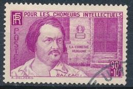 France-Honoré De Balzac YT 438 Obl. - Oblitérés