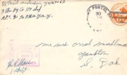 US Army Postal 1945 Mit Korrespondenz - Documents