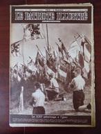 Le Patriote Illustré N° 35 - XXIIè Pèlerinage à L'Yser - Hôtel D'Hane-Steenhuyse à Gand  - Le Cortège Des Géants D'Ath.. - Livres, BD, Revues