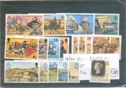 Petit Lot Ile De Man Dont 3 Séries Complètes - Stamps