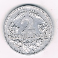 2 SCHILLINGS 1947 OOSTENRIJK /8440// - Autriche