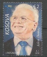 KOS 2018-17 ADEM DEMACI, KOSOVO, 1 X 1v, MNH - Kosovo