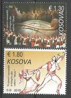 KOS 2018-16 FOLK DANCE GRUP ŠOTA, KOSOVO, 1 X 2v, MNH - Kosovo