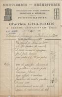 BELLOU LE TRICHARD CHARLES CHARRON PHOTOGRAPHIE MENUISERIE MECANIQUE EBENISTERIE ANNEE 1933 - France