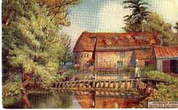 W.BUSK - THE OLD MILL - EAST STOKE - Pittura & Quadri