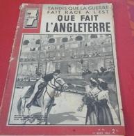 WW2 7 Jours N°42 Août 1941 Alpinistes Camp De Chamrousse,Mistou Nou Reine De Camargue,Guerre Front De L'Est - 1900 - 1949